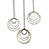 Sterling + Goldfill Multi Circle Pendants