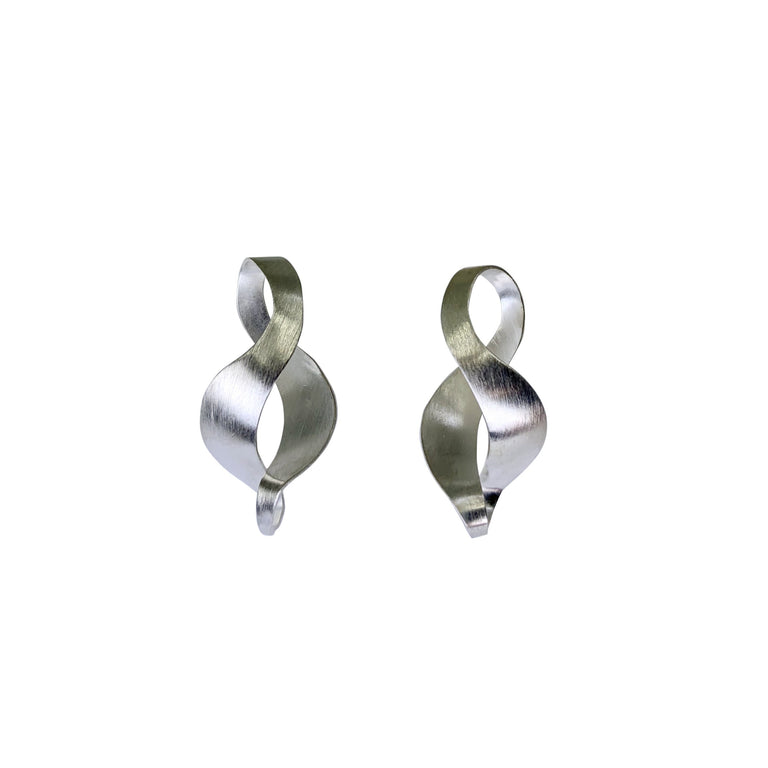 Open Twist Post Earrings