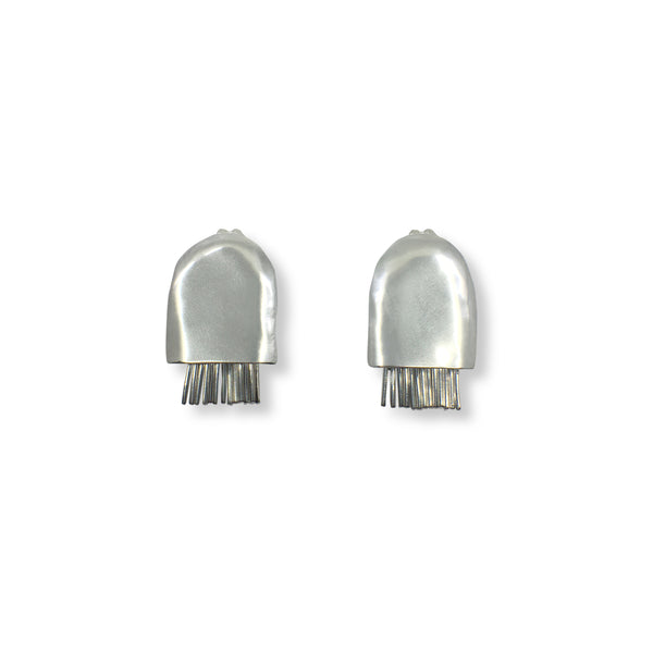 Jellyfish Sterling Silver Earrings