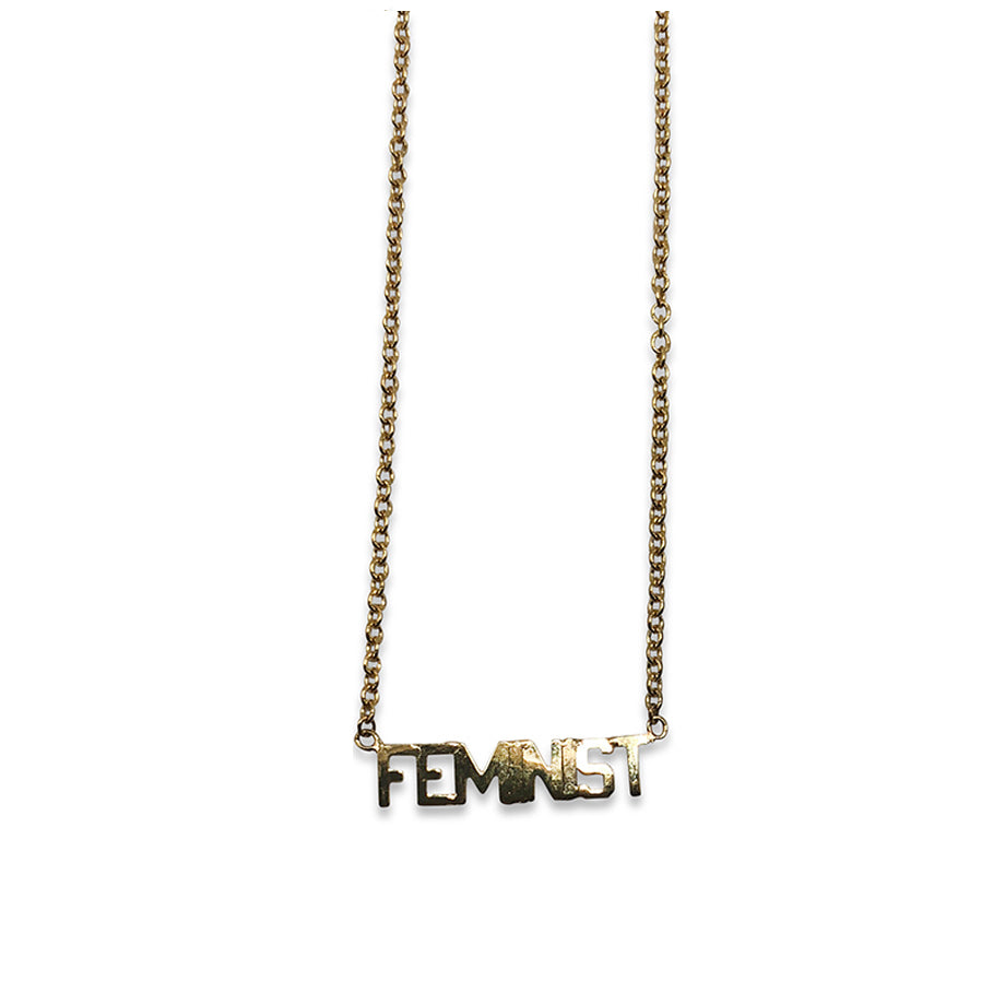 """Feminist"" Necklace"