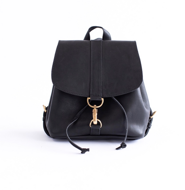 Mini Backpack Leather