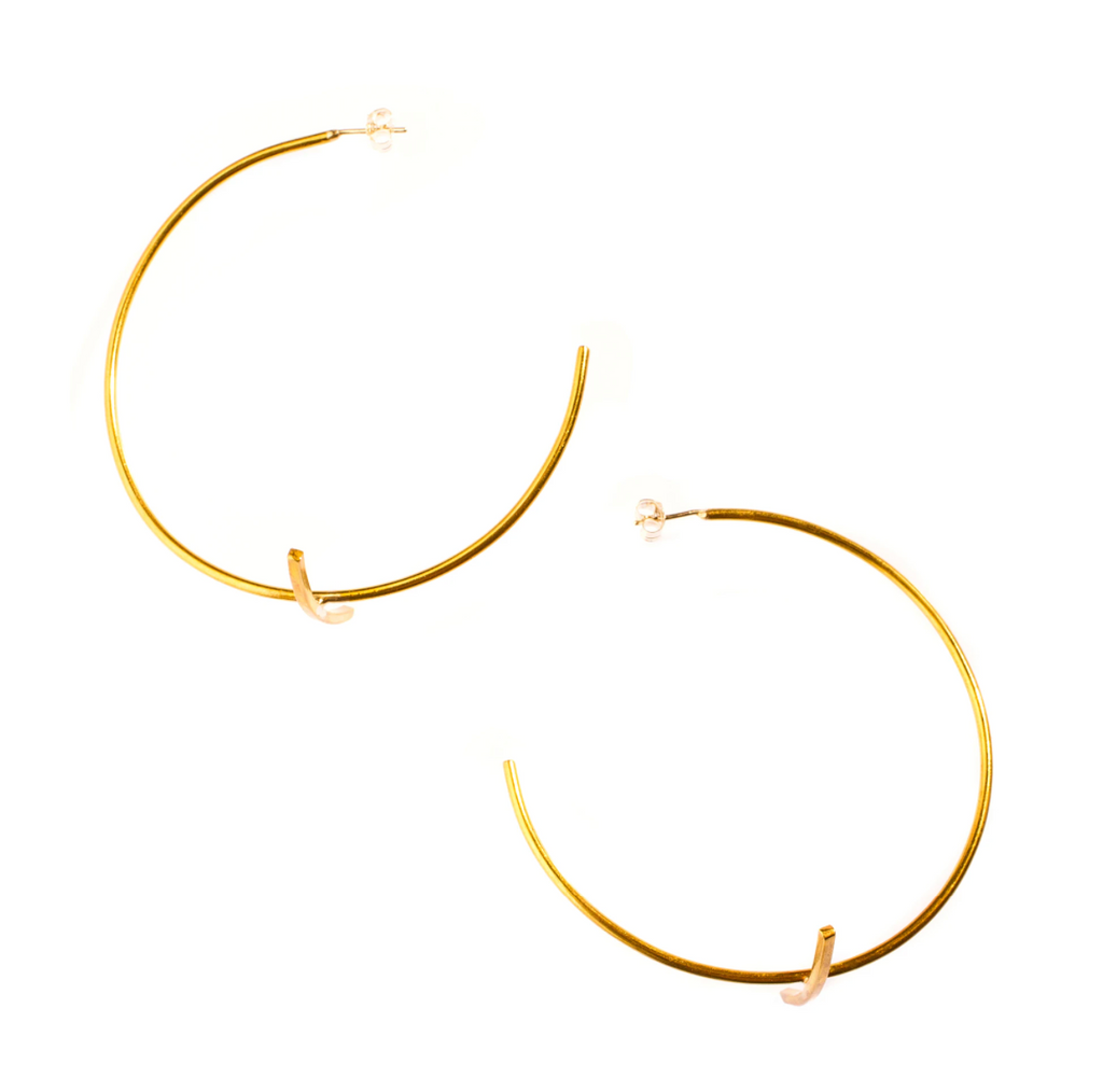 Large Bisecting Hoops