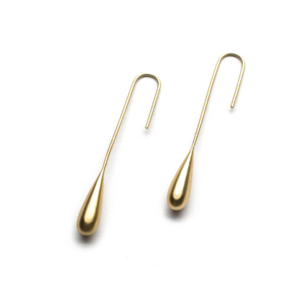 Liquid Gold Streamline Earrings