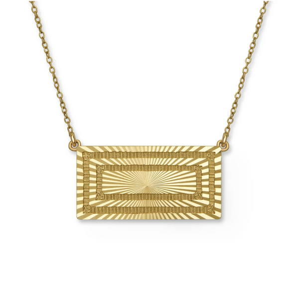 Stella Rectangle Necklace