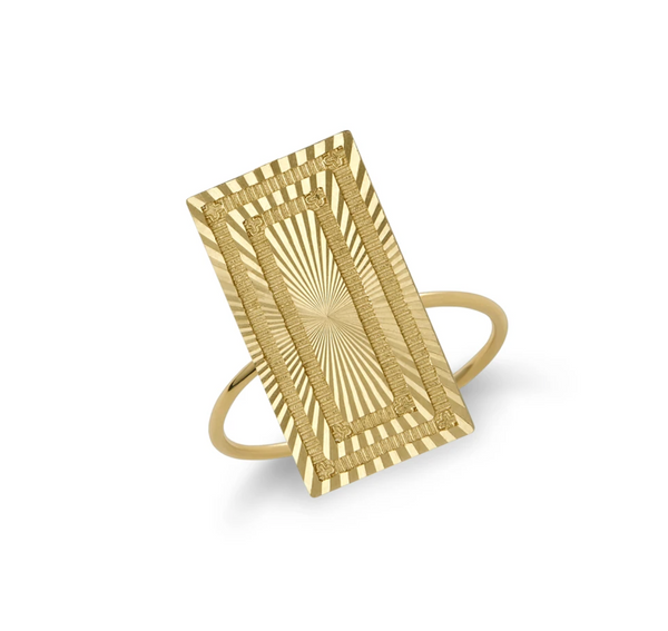 Stella Rectangle Ring