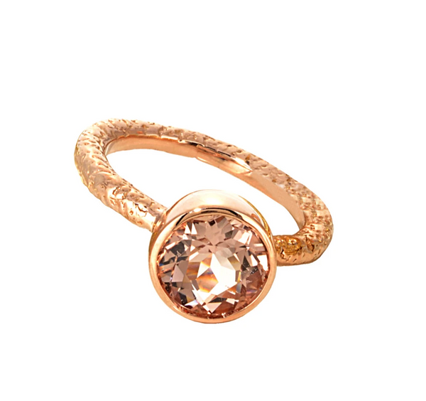 Morganite Ring