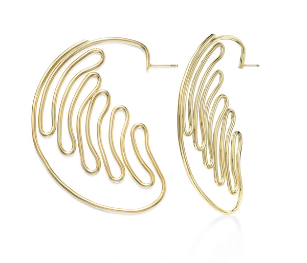 Crescendo Hoop Earrings