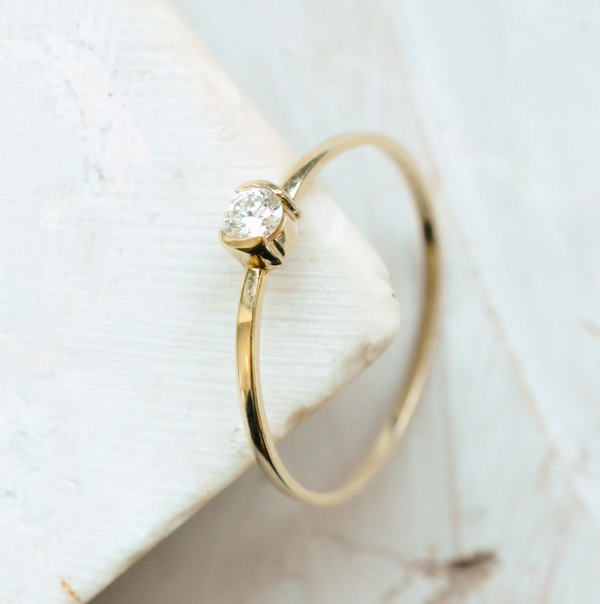 Diamond Coll Ring