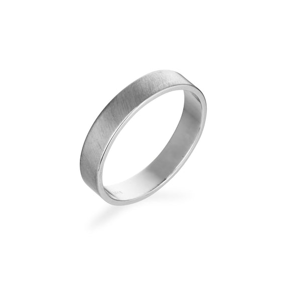 14k 4mm Gold Band