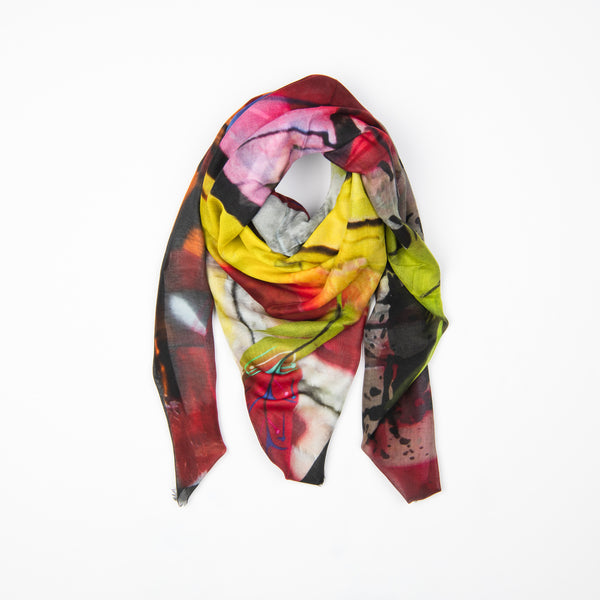 Wild Feather Modal Silk Scarf