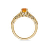 Maharaja Citrine Engagement Ring