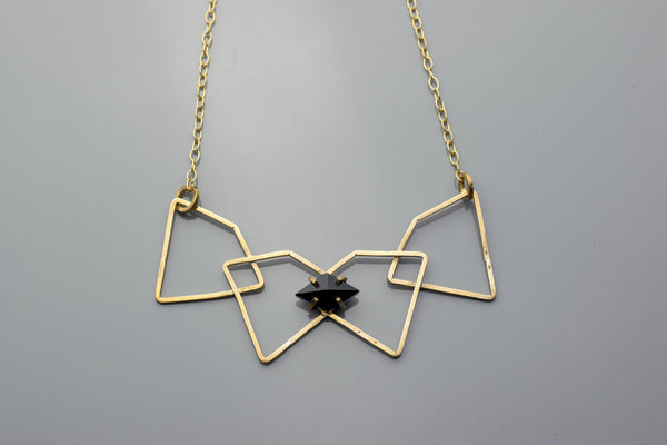 Intersecting Star Necklace