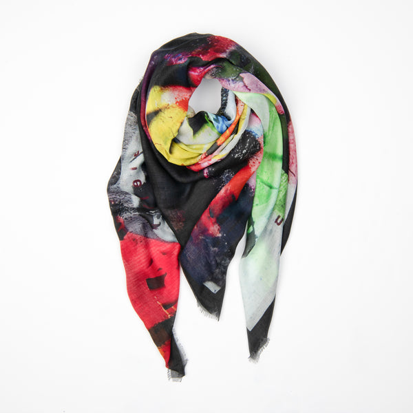 Electric Modal Silk Scarf