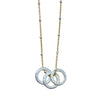 Triple Mini Circle Necklace