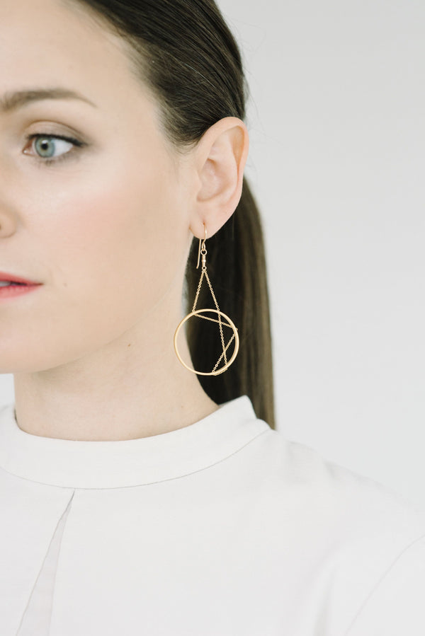 PREORDER Aperture Earrings