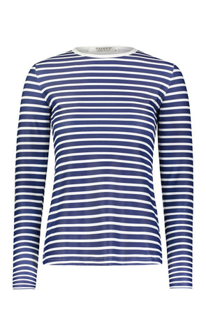 Scallop Cut Swim T - Navy