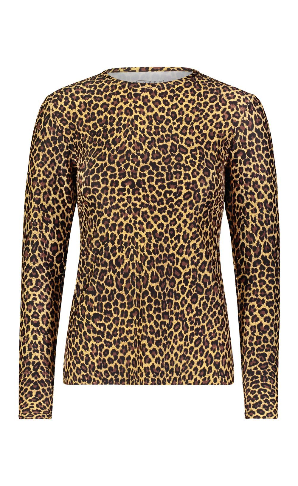 Long-Sleeved Swim T - Leopard