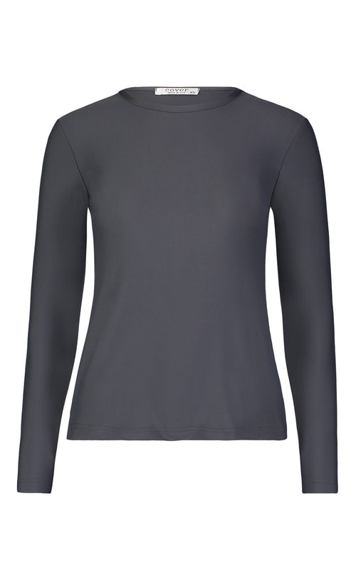 Long-Sleeved Swim T - Grey