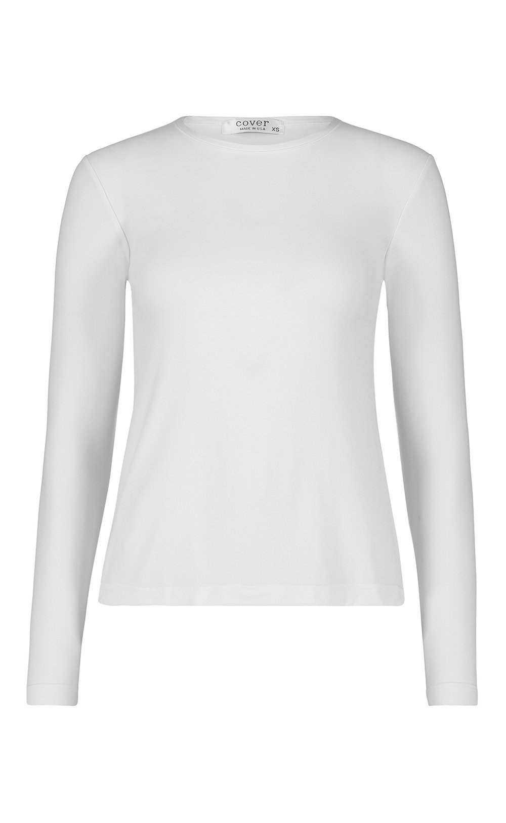 Long-Sleeved Swim T - White