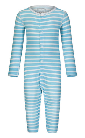 Cover Babies - Baby Blue Stripes Onesie Baby Bodysuit