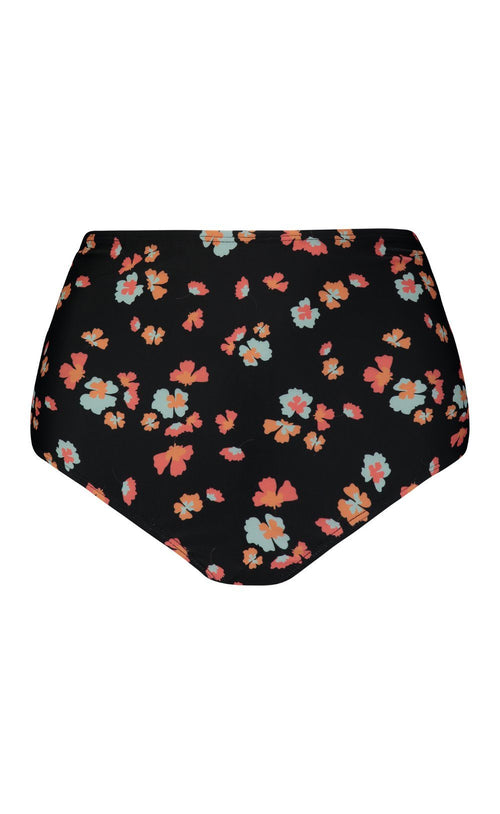 LayerIt High-Waisted Bottom Black Floral
