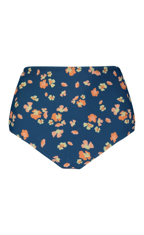 LayerIt High-Waisted Bottom Blue Floral