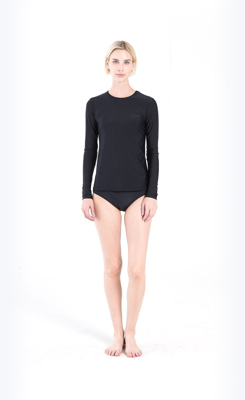 Long-Sleeved Swim T-Shirt - Cover