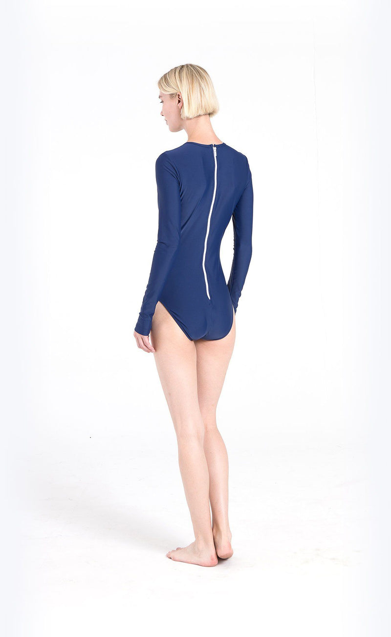 Long-Sleeved Swimsuit - Cover