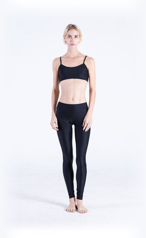Swim Sports Bra + Swim Leggings - Navy