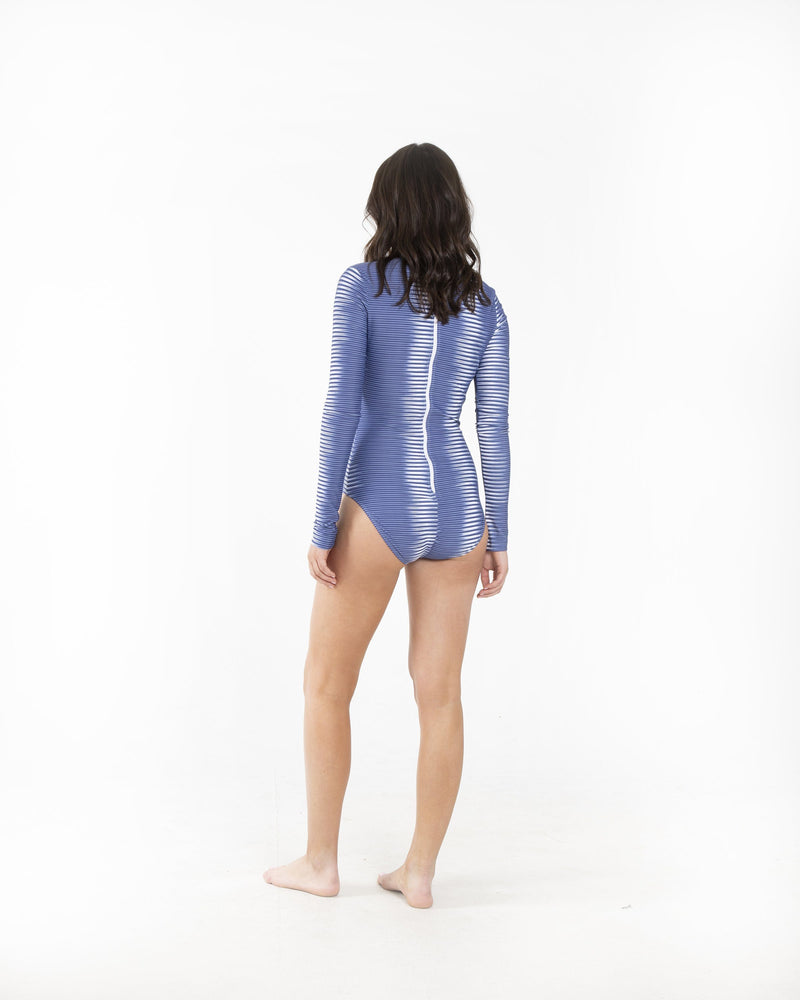 Long-Sleeved Swimsuit One-Piece Cover Clothing