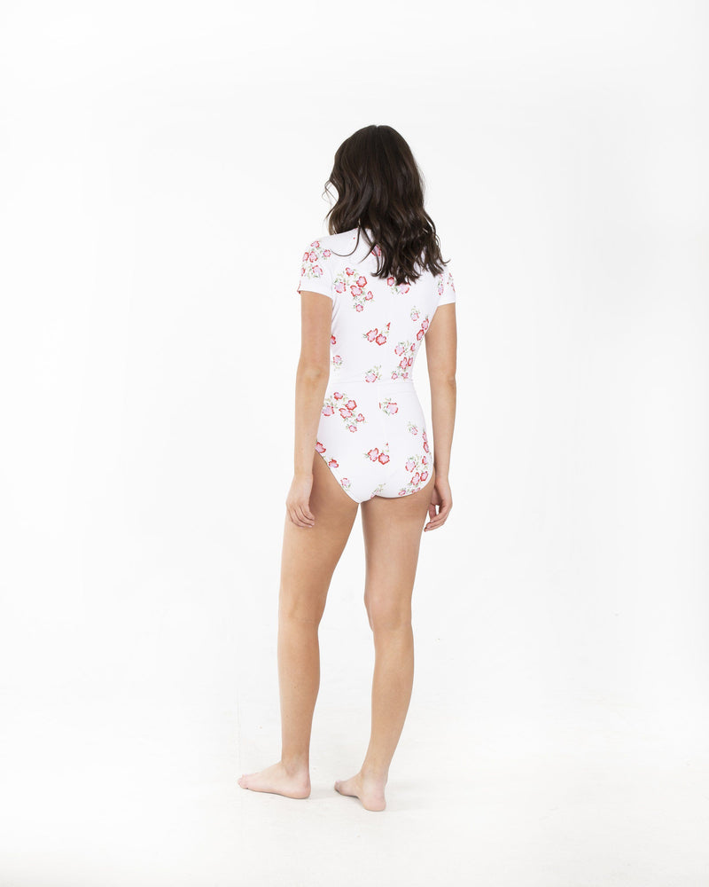 Short-Sleeved Swimsuit Cover Clothing