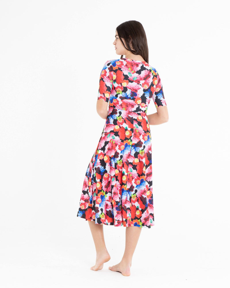 Elbow Sleeve Dress - Cover