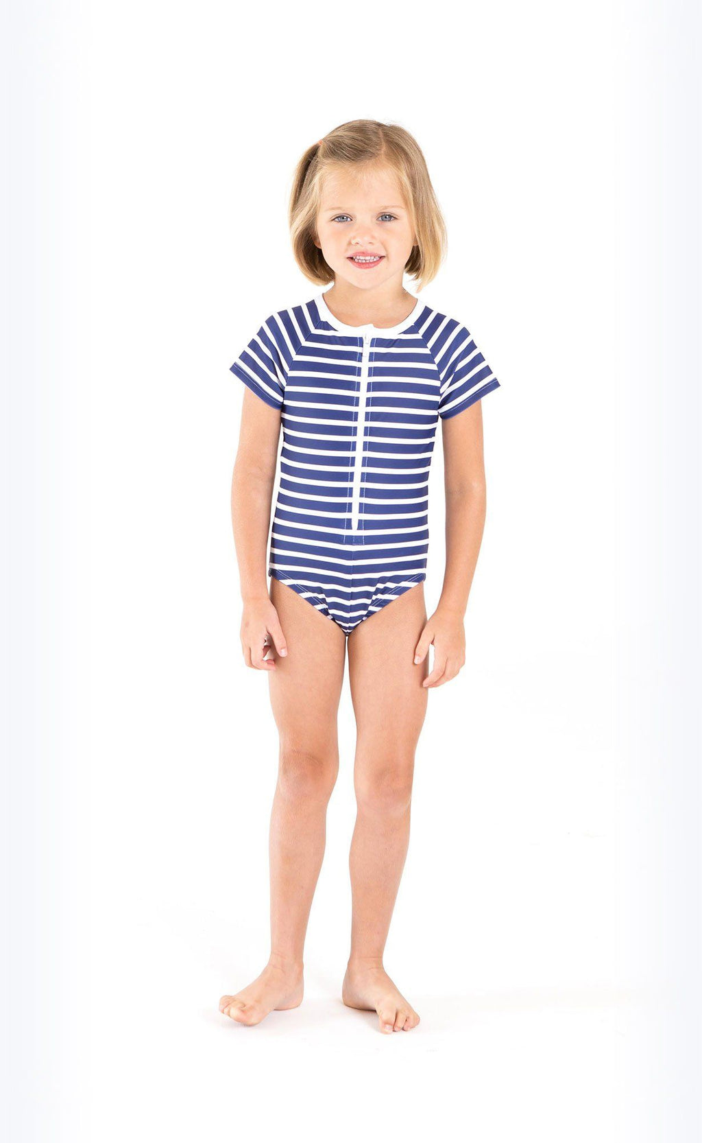 Cover Kids Short-Sleeved Swimsuit Kids Cover Clothing