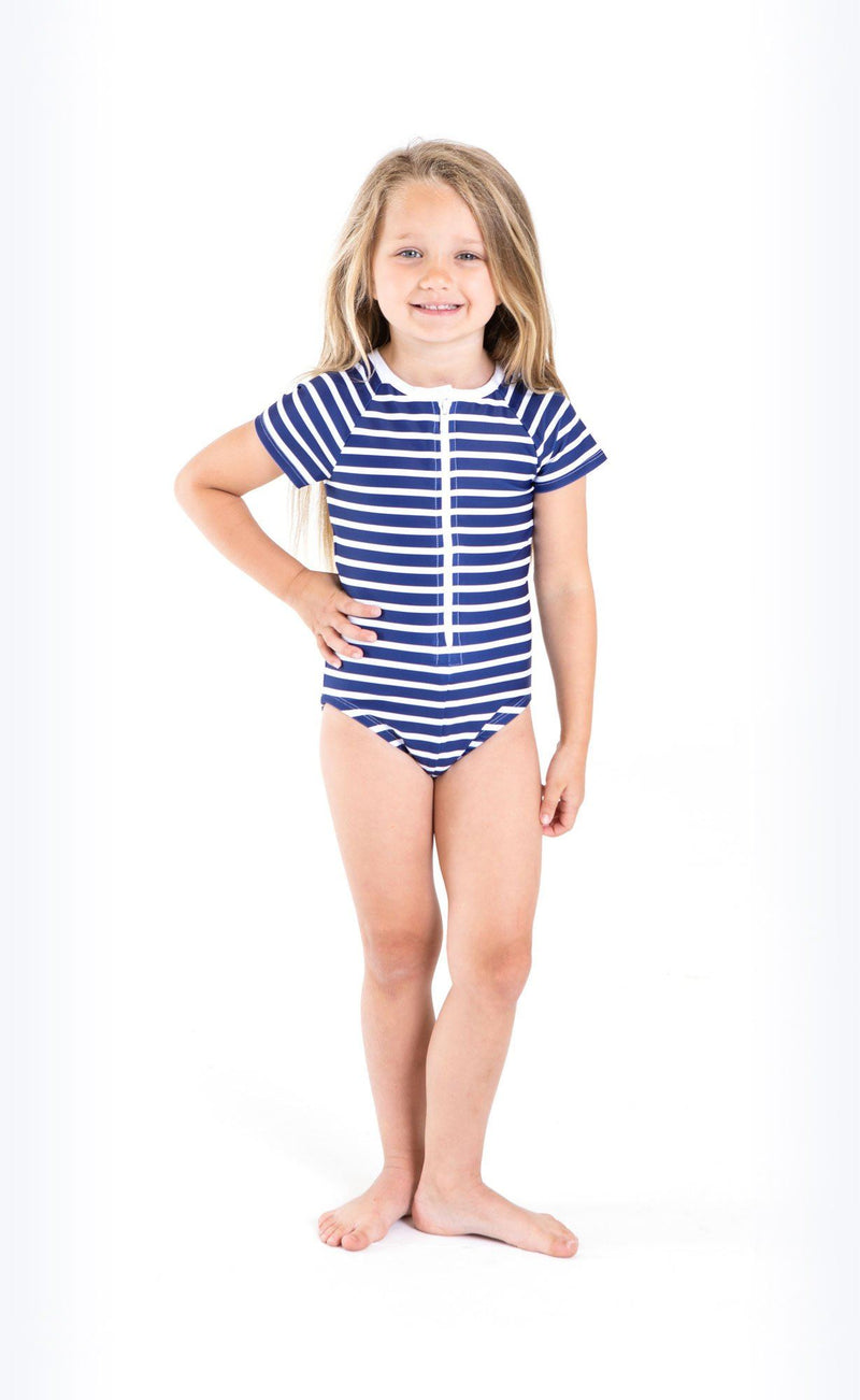 Cover Kids Short-Sleeved Swimsuit - Cover