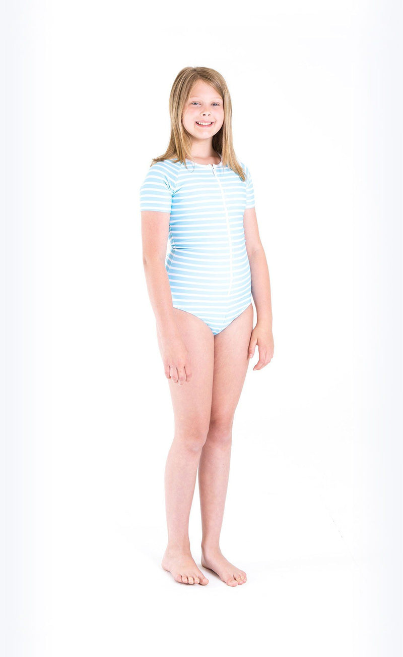Cover Kids Short-Sleeved Swimsuit - Cover Swim
