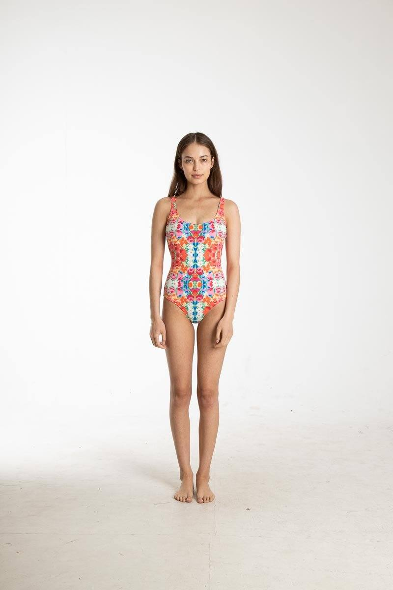 Frances Valentine Tank Swimsuit One-Piece Cover Clothing