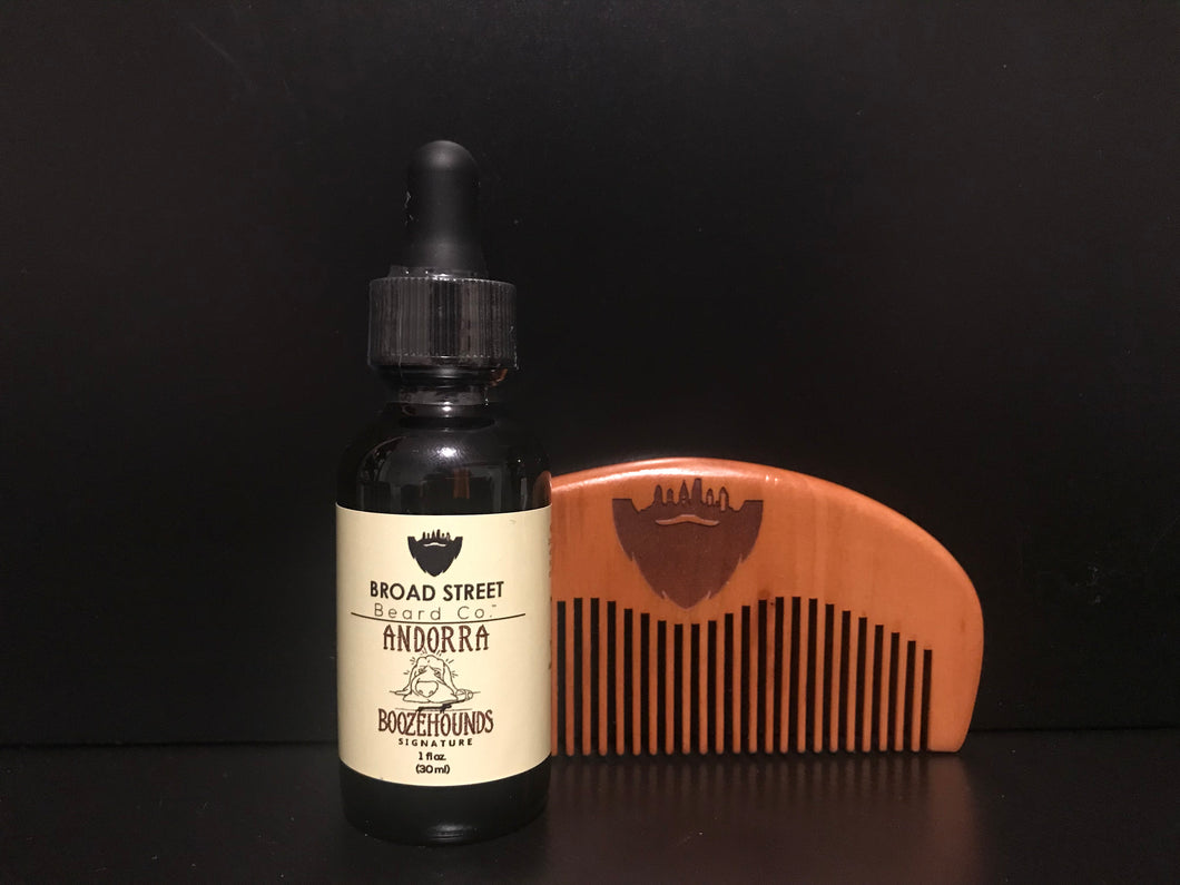 Andorra Boozehounds Signature Beard Oil