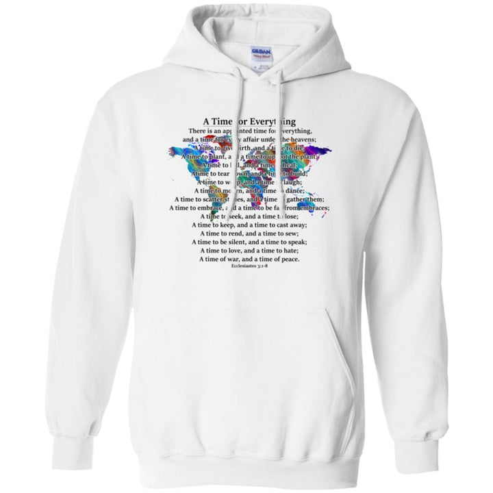 A TIME FOR EVERYTHING HOODIE   KC WOW WARES