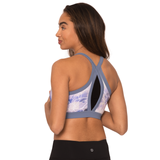 Celestial V-Cut Yoga Gym Bra