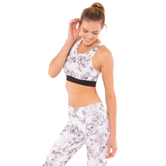 Stride Criss Cross Yoga Gym Bra - **SOLD OUT**