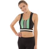 Roxy Colorblock Yoga Gym Bra
