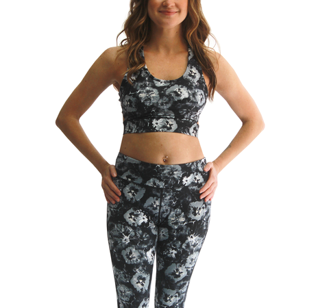 Printed Medium Impact Jada Bra