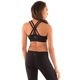 Energy Medium Impact Strappy Yoga Gym Bra