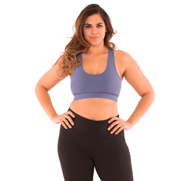Madison Plus Size Yoga Gym Racerback Bra