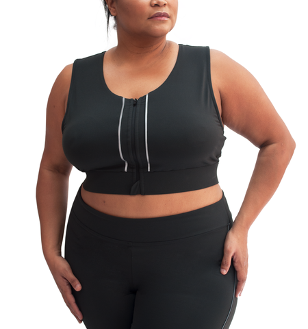 Vigil Plus Reflective High Impact Bra