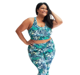 Printed Plus High Impact Jada Bra