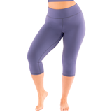 Plus Yoga Leggings Confidence Capri - Essentials Collection