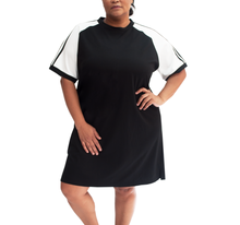 Load image into Gallery viewer, Vintage Plus T-shirt Dress