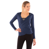 Gracie Wrap Around Yoga Long Sleeve