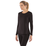 Luna Open Back Yoga Long Sleeve